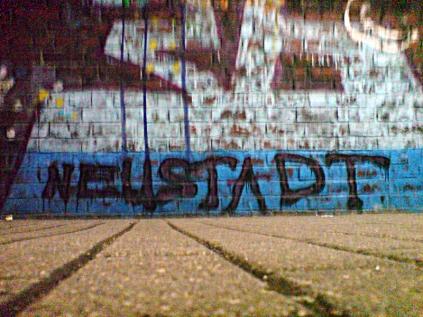 Neustadt kann auch Graffiti