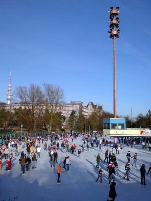Eislaufen Wallanlagen