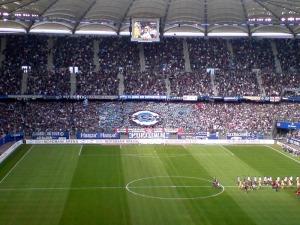 HSV gegen MSV Duisburg im Volkspark