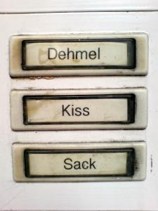 Dehmel Kiss Sack