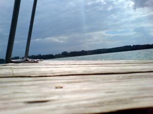 Schaalsee, Badestelle bei Lassahn