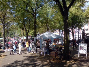 Flohmarkt Großneumarkt 14.9.2008