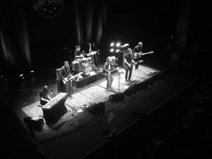 Thees Uhlmann mit Band (nicht Tomte)